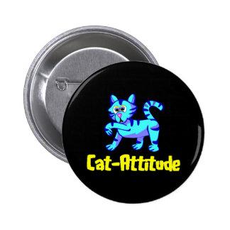 Cat-Attitude Pins