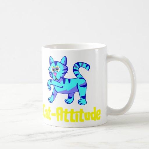 Cat-Attitude Classic White Coffee Mug