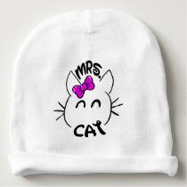 Cat baby baby beanie