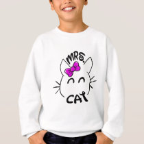 Cat baby sweatshirt