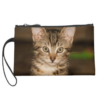 Cat Wristlet Clutch