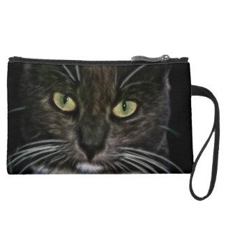 Cat Wristlet Purse