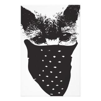 cat bandana stationery
