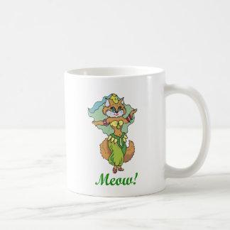 Cat Belly Dancer Coffee Mug