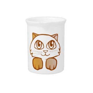 Cat Beverage Pitcher