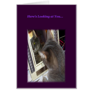 Cat Birthday Card for Her