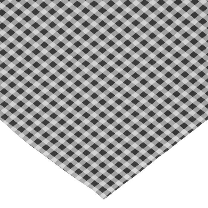 Cat Black and White Gingham Check Plaid Pattern Short  : catblackandwhiteginghamcheckplaidpatternshorttablerunner rcfc631247b5647f68a8b1ccc9a3cce67zga9w700 from www.zazzle.com size 756 x 756 jpeg 144kB