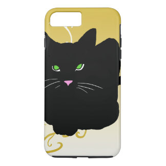 Cat Black Cats Trendy Gold Fashion CricketDiane iPhone 8 Plus/7 Plus Case