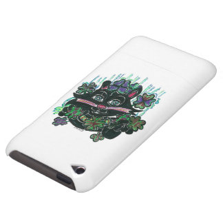 CAT Black in Misty Clover iPod Touch Cover