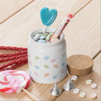 Cat Blobs Mice Candy Jar