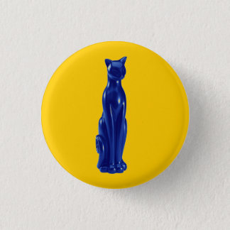 Cat Blue ~ Button