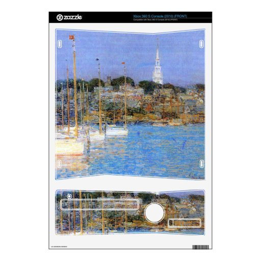 Cat Boats, Newport by Childe Hassam Decals For Xbox 360 S