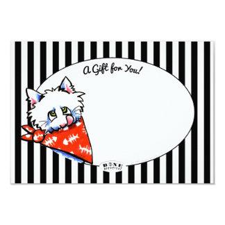Cat Bone Appetit! Pet Biz Gift Enclosure Cards