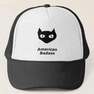 Cat Boo American Badass Trucker Hat