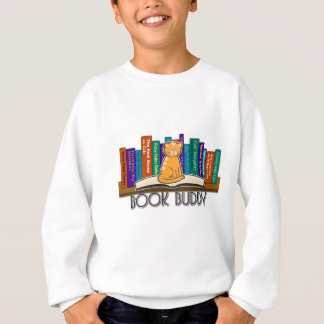 Cat Book Buddy Sweatshirt