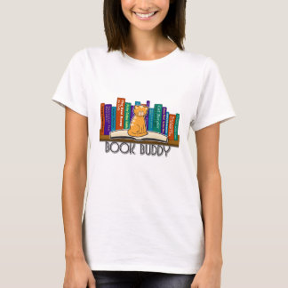 Cat Book Buddy Tshirt