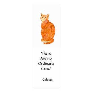 Cat Bookmark profilecard