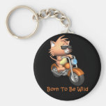 Cat - Born To Be Wild Key Chain