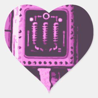 Cat Bot 3000 Heart Sticker