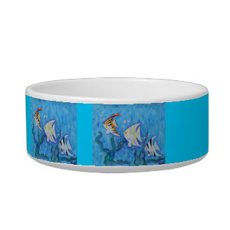 Cat Bowl - Angel Fish
