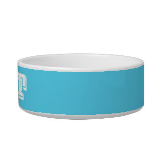 Cat Bowl by Janz Small in Sky Blue