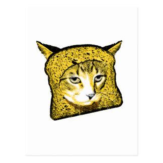 Cat Breading Postcard
