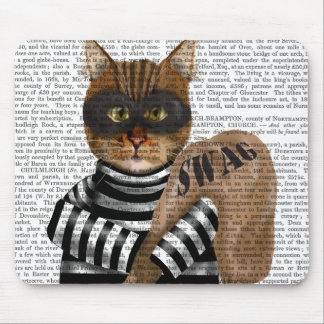 Cat Burglar Mouse Pad