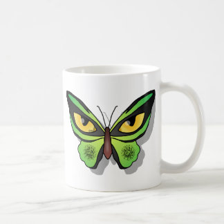 Cat Butterfly Coffee Mug