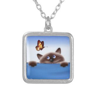 Cat & Butterfly Necklaces