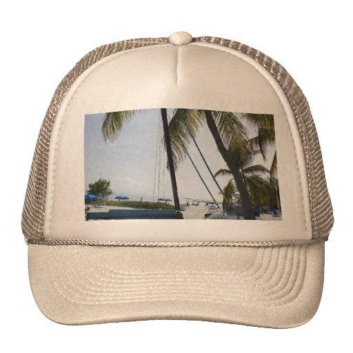 Cat by the Sea Trucker Hat