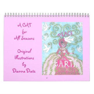 "Cat Calendar 2015 - ""A CAT for All Seasons"""