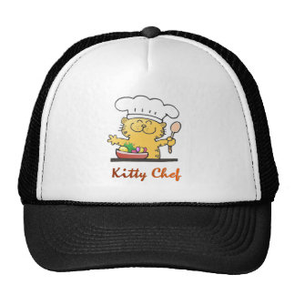 Cat can cook mesh hat
