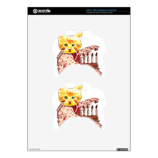 Cat Candles Xbox 360 Controller Decal