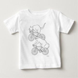 Cat car - cat sprint- A (black) Baby T-Shirt