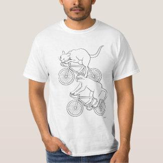 Cat car - cat sprint- A (black) T-Shirt