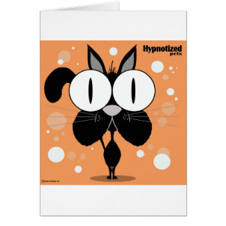 Cat Card, Standard white envelopes included Card