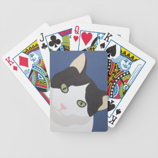 cat cards bicycle playing cards
