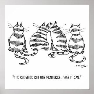 Cat Cartoon 3060 Poster