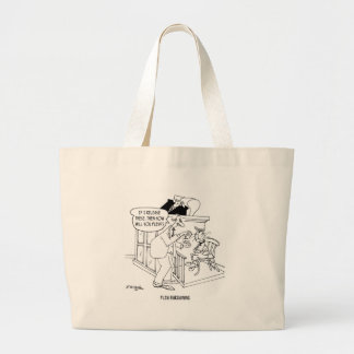 Cat Cartoon 5619 Large Tote Bag