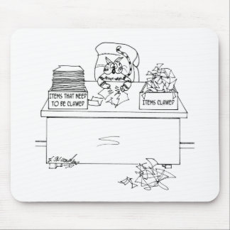 Cat Cartoon 6893 Mouse Pad
