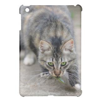 cat caught a lizard case for the iPad mini