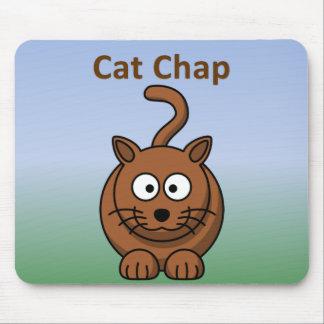 Cat Chap Mouse Pad