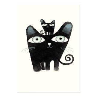 Cat chat gato katze  business card