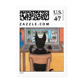 Cat Chat Postage
