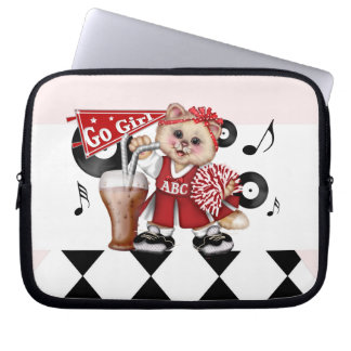 CAT CHEERLEDER CUTE Electronics Bag