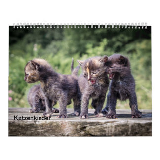 Cat children calendar