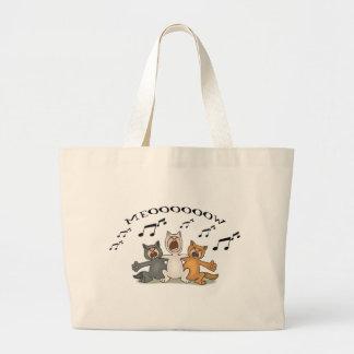Cat Choir Tote Bags