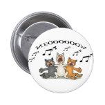 Cat Choir Button