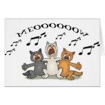 Cat Choir Cards