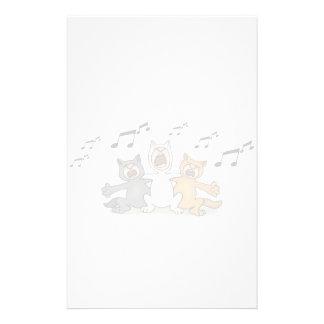 Cat Choir Stationery